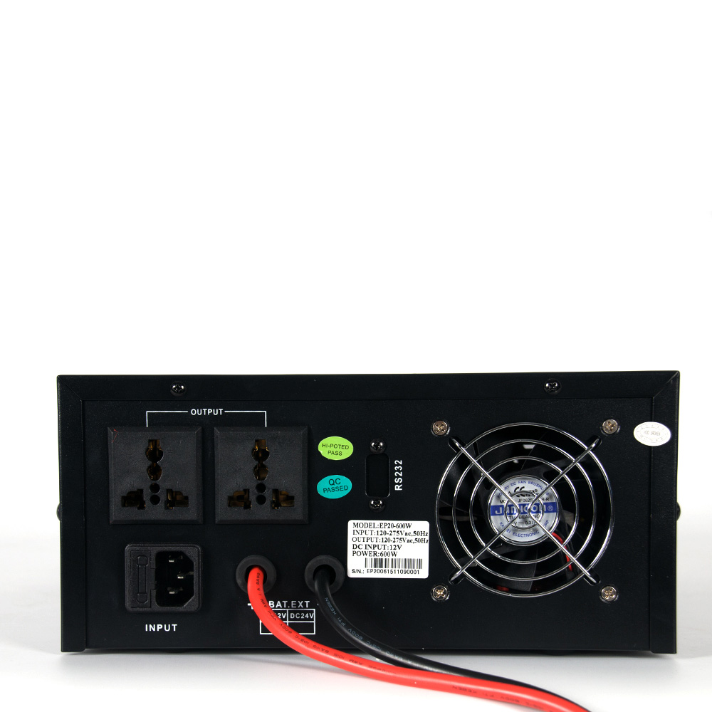 EP2000 Rack Series Low Frequency Pure Sine Wave Inverter (0.3-1KW)