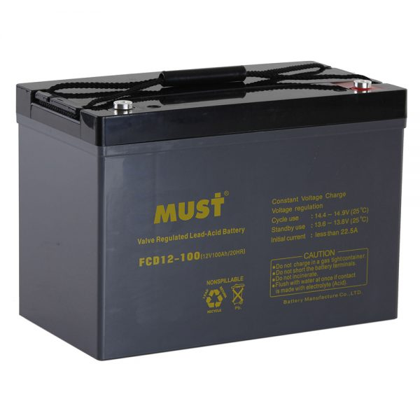 Deep Cycle AGM VRLA Battery FCD Series 6V-12V