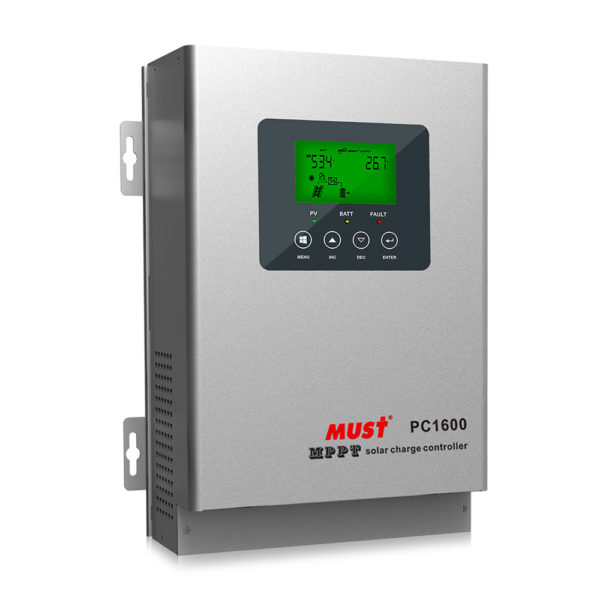 PC1600F Series MPPT Solar Charge Controller (45-60A)