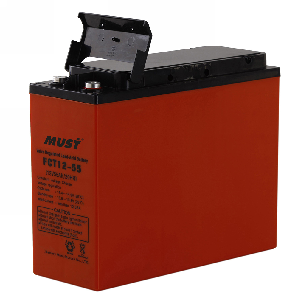 Front Access AGM Battery FCT Series 12V