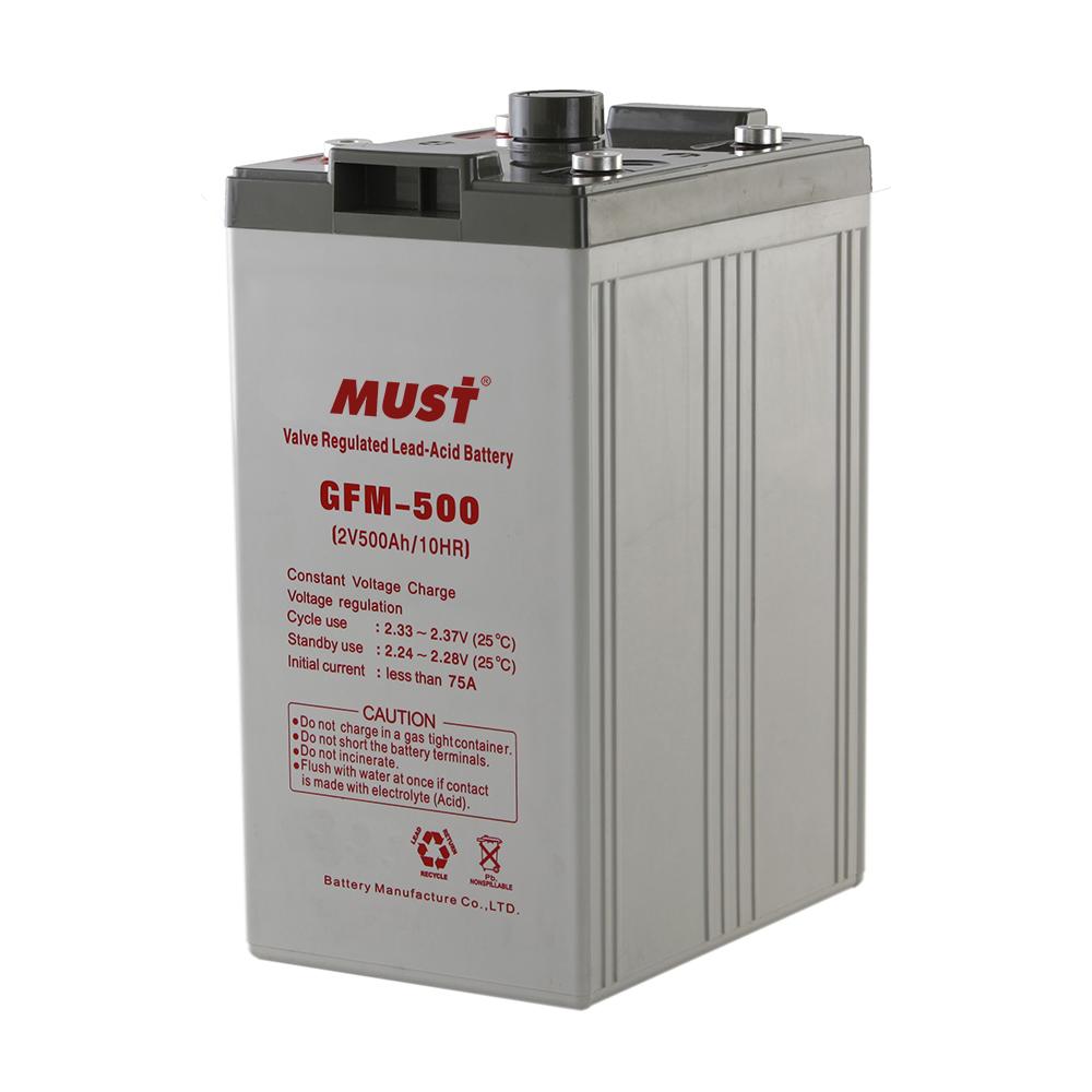 Long Life AGM VRLA Battery GFM Series 2V