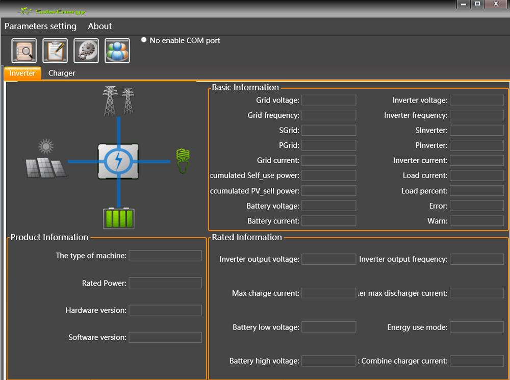 Computer Monitoring Page