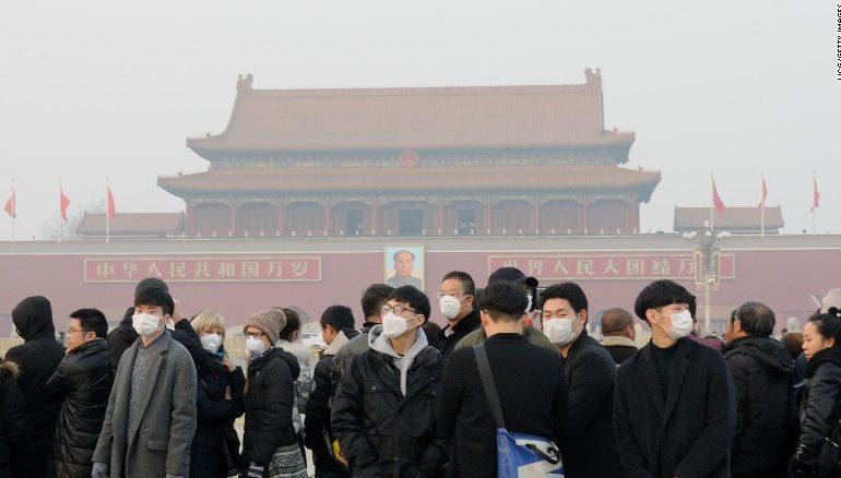 China Smog: Red alerts shut down factories