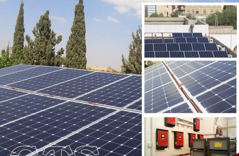 This is our solar project in Yemen market !
