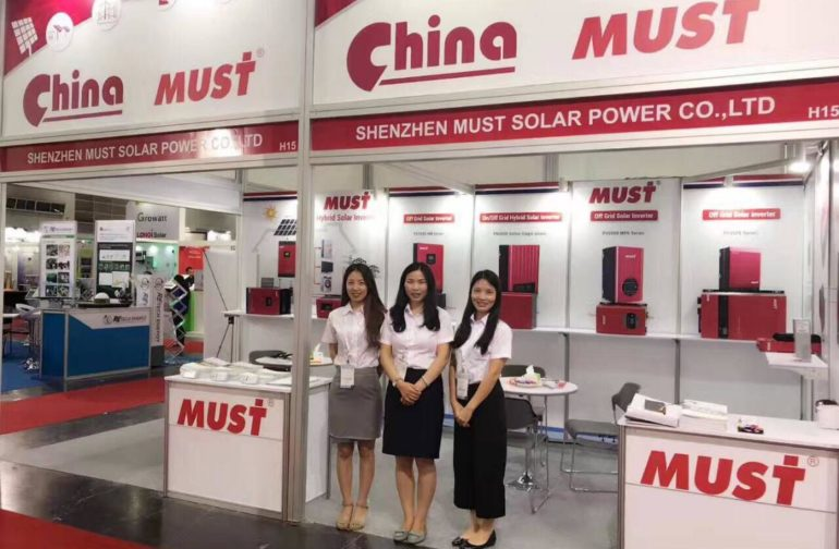 MUST POWER ENJOY A NICE EXHIBITION-THAILAND 2017