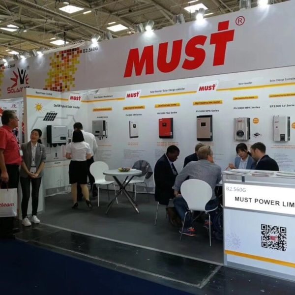 MUST Win Great Success in 2018 Inter Solar Europe