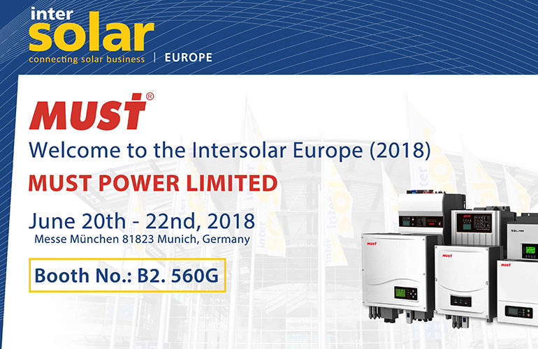Welcome to Intersolar Europe (2018)