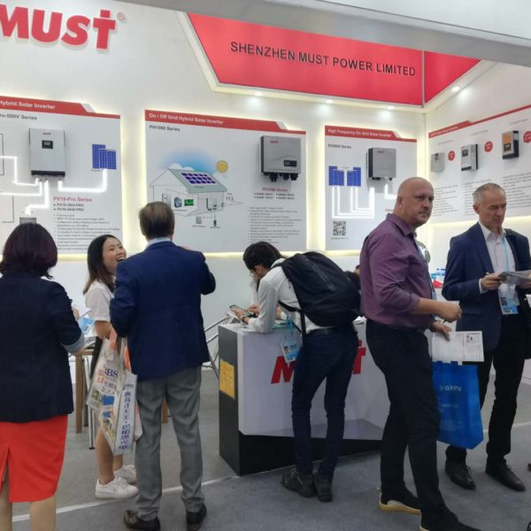 The 124th canton fair is going on now.