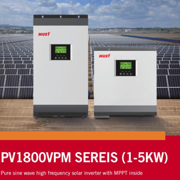 2019 New High Frequency Off Grid Solar Inverter PV1800 VPM Series Arrvial!!