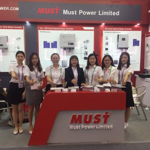 MUST POWER has a successful end on 19th April in the 125th canton fair.