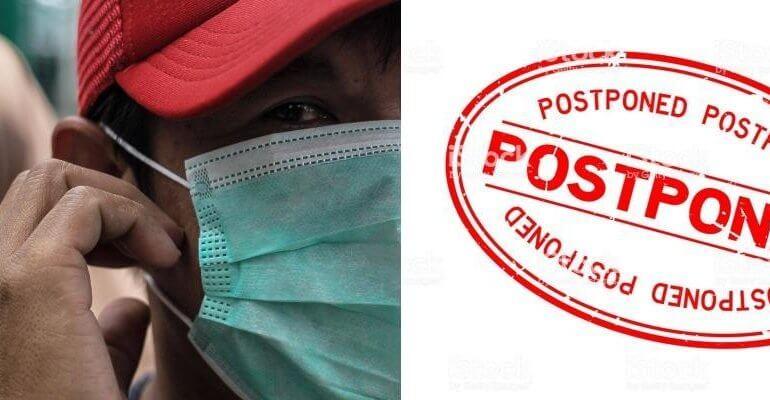 Coronavirus leads to exhibition cancellations