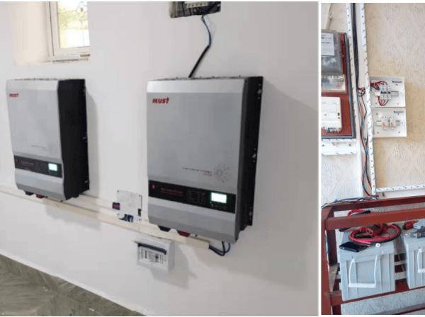 PV3500 installation