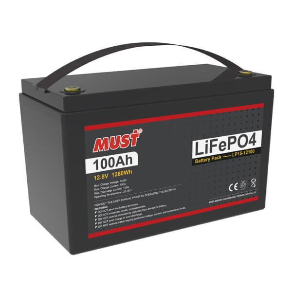 Lithium Iron Phosphate Battery LP15-12100-50 (12.8V/100Ah)
