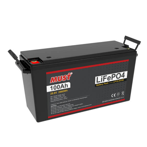 Lithium Iron Phosphate Battery LP15-24100 (25.6V/100Ah)