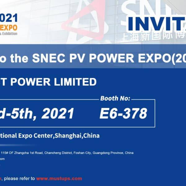 SNEC 2021 PV POWER EXPO